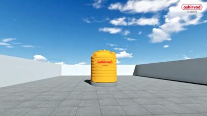 Ashirvad water tank